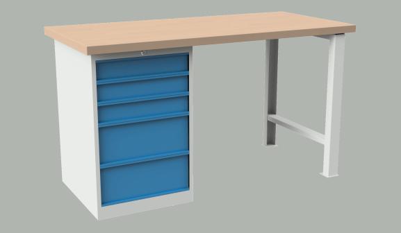Dielenský stôl AXTOR